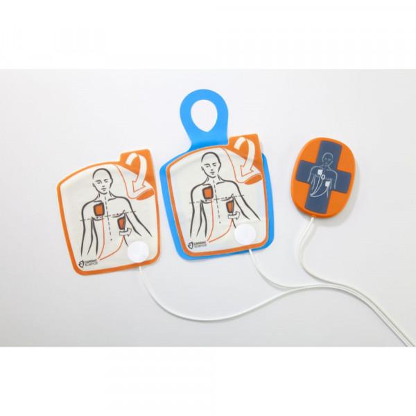 Cardiac Science IntelliSense G5 AED Elektroden für Erwachsene mit iCPR Sensor Sonderposten