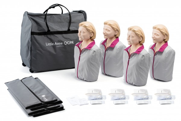Laerdal Little Anne QCPR 4er Pack