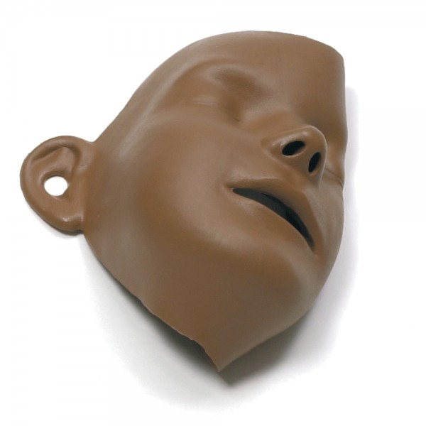Laerdal Gesichtsteile Little Junior QCPR (dunkel) VE 6 Stück