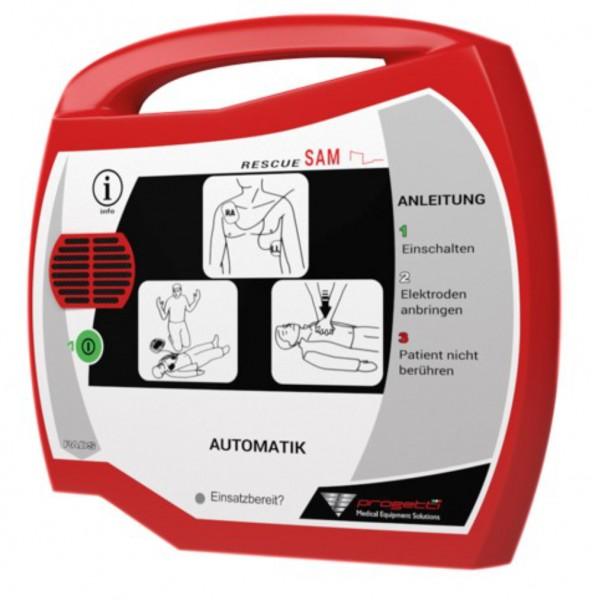 Progetti Rescue SAM AED PA Vollautomat