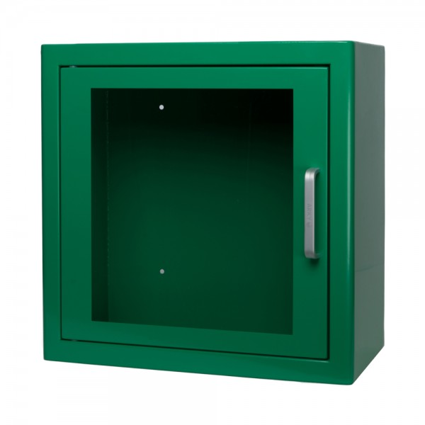 ARKY AED Wandschrank mit Alarm grün