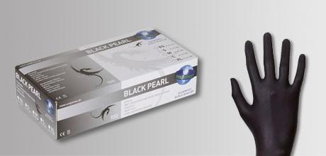 Unigloves Black Pearl Nitrilhandschuhe