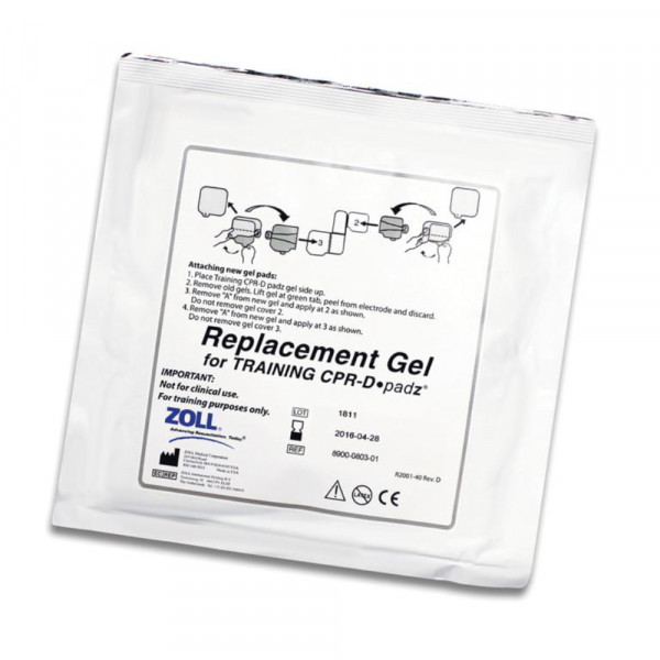 ZOLL Replacement Gel Pads für CPR-D Trainingselektrode VE 5 Stück